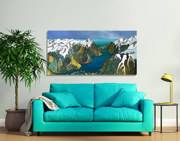 Overview - Milford Sound by Miranda Jane Caird