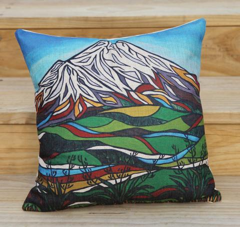 Cushion artwork by Miranda Jane Caird