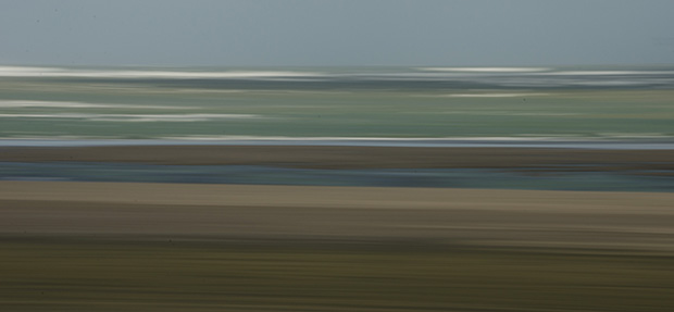 Seaside layers by Richard Gemmell, photograph, 2014